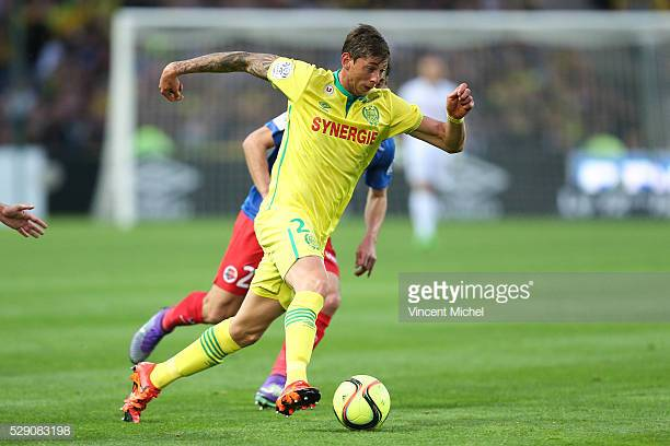 Emiliano Sala of Nantes during the Football french Ligue 1 match on May 7, 2016 in Nantes, France. (Photo by Vincent Michel/Icon Sport via Getty Images)