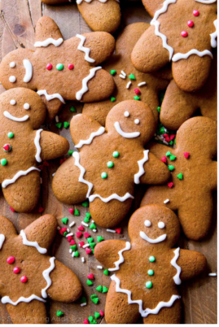 Holiday Gingerbread Cookies Recipe