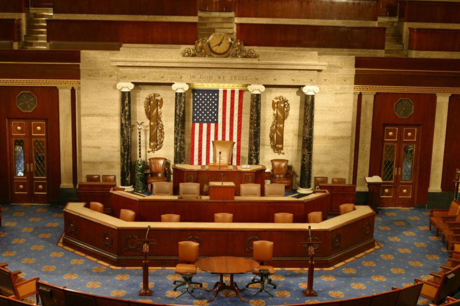 The+Floor+of+the+US+House+of+Representatives%2C+where+Trump+is+slated+to+give+his+State+of+the+Union+Address.++