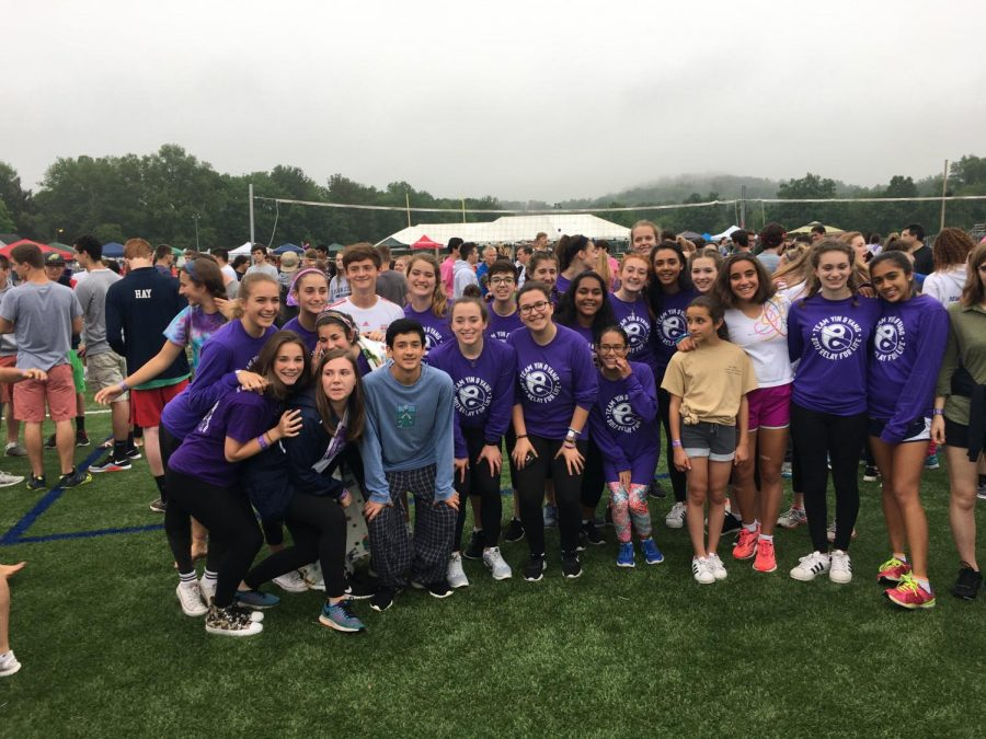 West Morris Mendham team Yin and Yang pictured at 2017 Relay For Life.