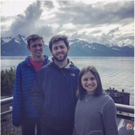 Pictured: The Shafran Siblings in Alaska (Left: Jonah, Middle: Lucas, Right: Annie)