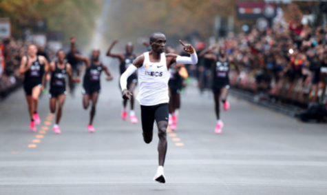 Eliud Kipchoge became the first person to run a marathon in under two hours