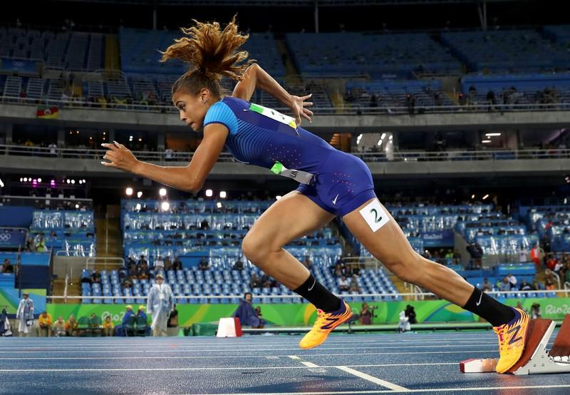 McLaughlin+at+the+2016+Rio+Olympics+in+the+Women%27s+400m+Hurdles+Round+1-+Olympic+Stadium+-+Rio+de+Janeiro%2C+Brazil++