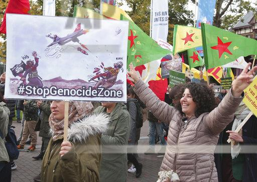 Kurdish+activists+and+supporters+take+parte+during++demonstration+against+the+ongoing+Turkish+military+operation+in+the+northeastern+Syria+on+October+19%2C2019+in+A%E2%80%8Bmsterdam%2C+Netherlands.++Dutch+Kurdish+community+demonstrated+in+the+streets+of+Amsterdam+to+protest+against+the+offensive+launched+by+the+army+of+Turkey+in+the+region+of+Rovaja%2C+Syrian+Kurdistan+region.+%28Paulo+Amorim+%2F+VWPics+via+AP+Images%29