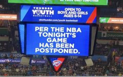 Due to COVID-19 the 2019-2020 NBA season has been suspended. Photo credit to Alonzo Adams.