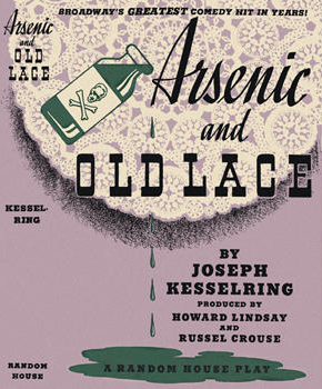 Picture of Playbill from Arsenic and Old Lace. From Wikipedia