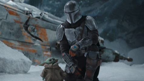 The Mandalorian (Pedro Pascal) and The Child in Season 2. This image is courtesy of techradar.com.