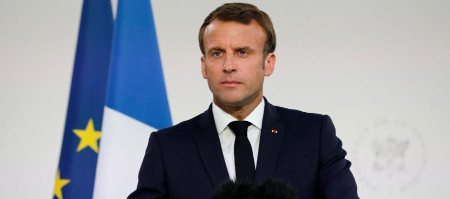 Of President of France, Emmanuel Macron. From News Stateman