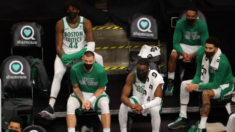 From a title contender to a team that is under .500 in win percentage, what is happening to the Boston Celtics?