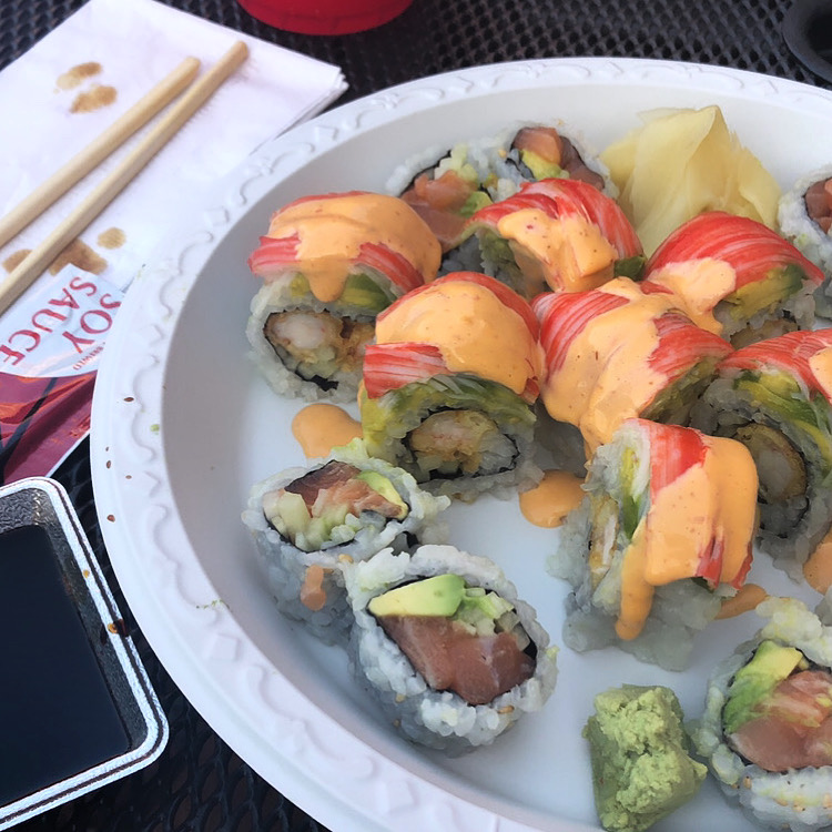 Some Nearby Sushi Restaurants - reviewed