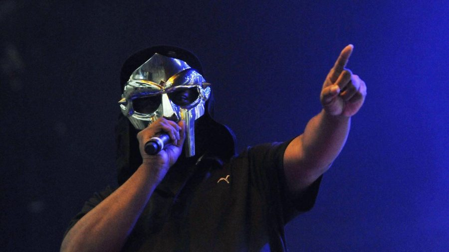 DOOM performing during the Ill Be Your Mirror Festival in London, England (2013)
