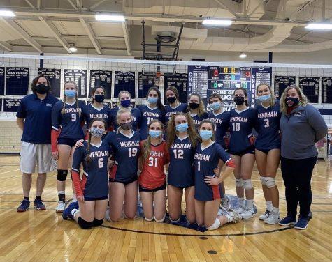 Mendham Girls Volleyball State Championship