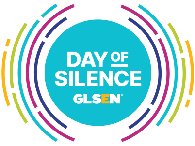 The Day of Silence is a national event organized by GLSEN. Image via GLSEN.