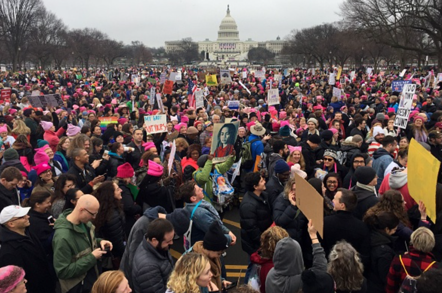 Women's March in 2014