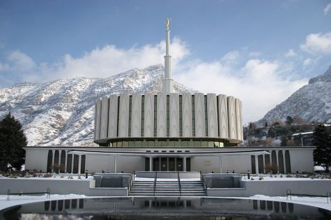 The Provo, Utah Temple of the Church of Latter-Day Saints. Also located in Provo is Brigham Young University, where Lances Habits For Life program was located.