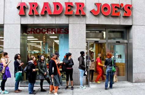 This Trader Joes is one of the largest in the country, located in Essex Crossing with 30,000 square feet on 400 Grand St, Cellar NY.